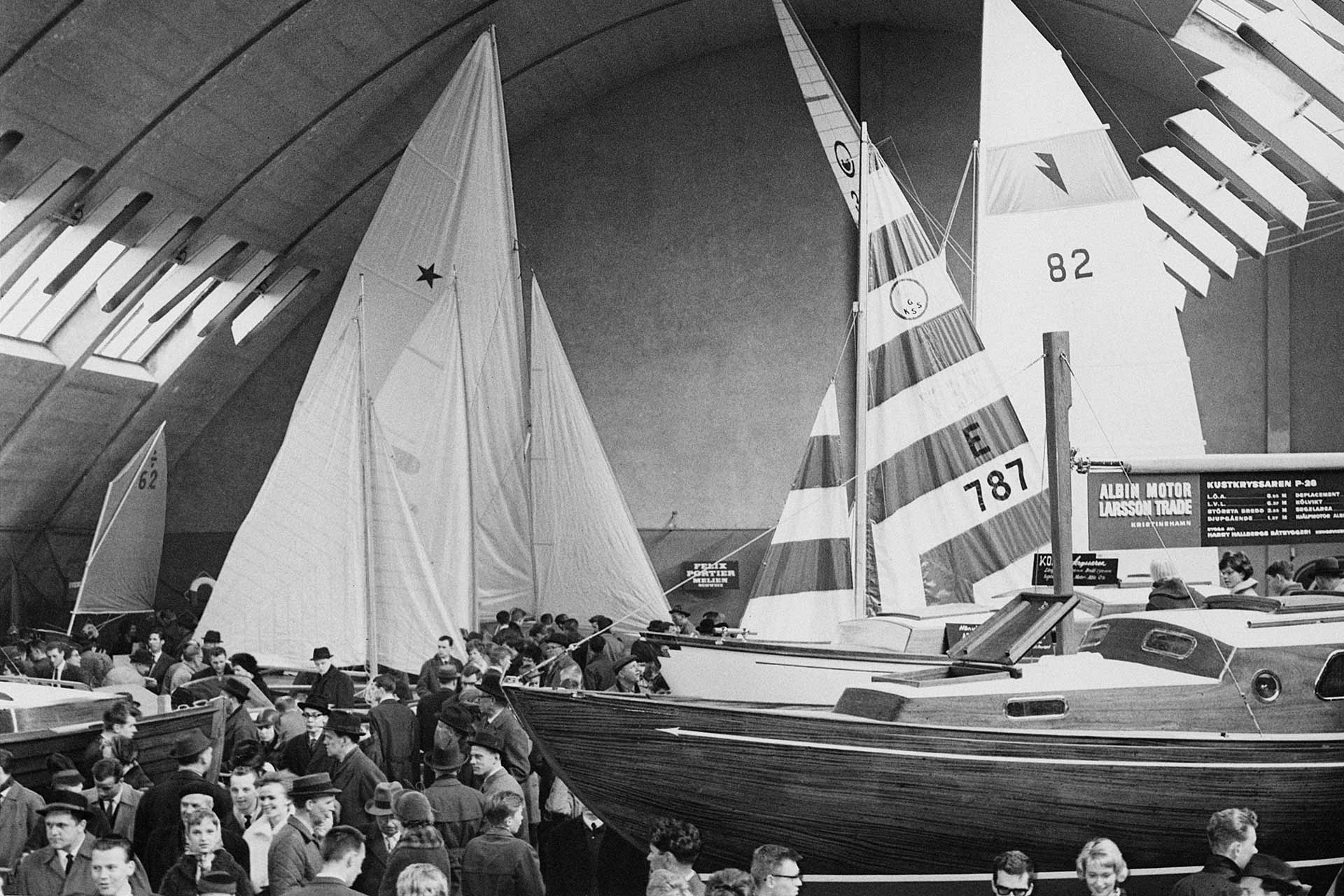 The Gothenburg Boat Show 1962
